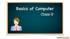 Class 3  Computer Introduction in Hindi