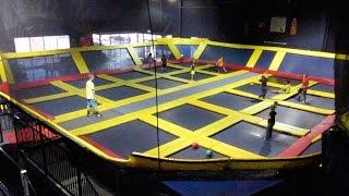 Sky High Sports - Trampoline Park!  | CAF Family Vlog