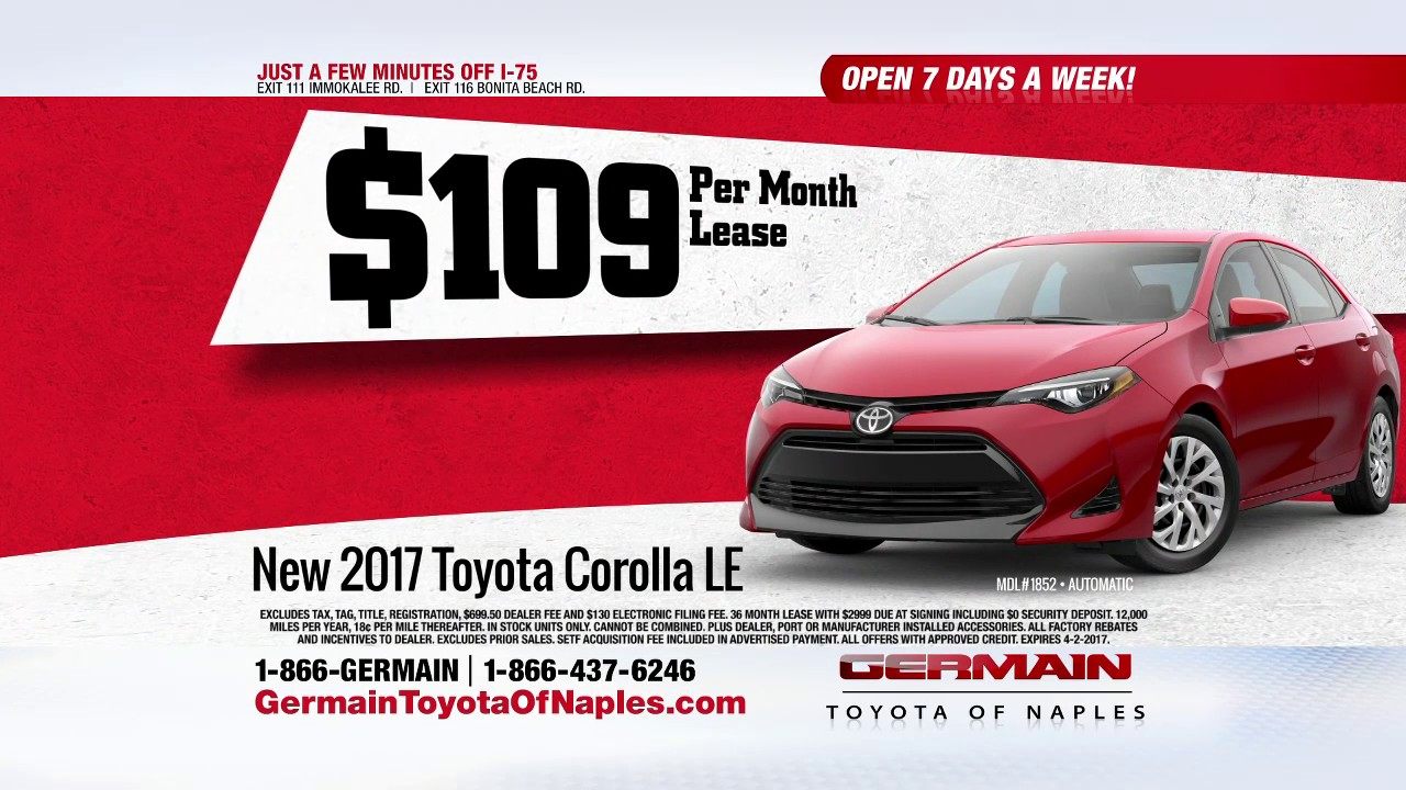 le cost excess per new corolla net toyota lease car specials requires boch credit based cap approved htm miles year mile msrp on south