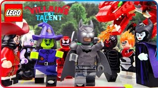 ♥ LEGO Disney Villains GOT TALENT Maleficent Syndrome Ursula (Home of Disney Princess)