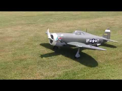 Top Flite P-47 Razorback with FG60R3