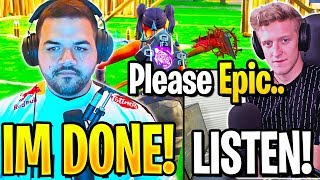TFUE & COURAGE *RAGE QUIT* TOURNEY and GET *EMOTIONAL* after THIS... (Fortnite)