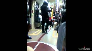 Crazy guy Dancing on the trolley (Milk Duds remix)