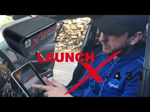 Обзор Launch X431 / Лаунч / Диагностика / Автоподбор / Как определить реальный пробег/ VAG/Mercedes