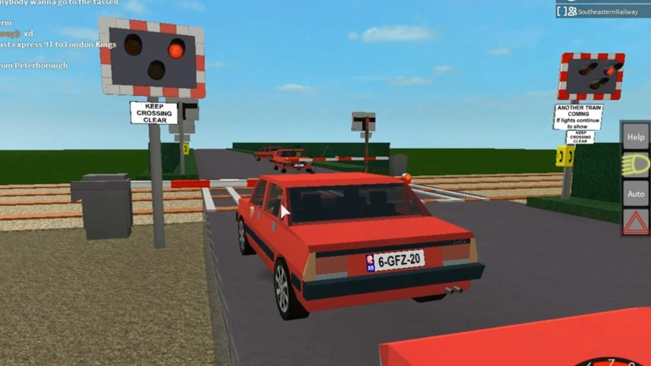 (ROBLOX) Pirton Level Crossing, Worcestershire - YouTube