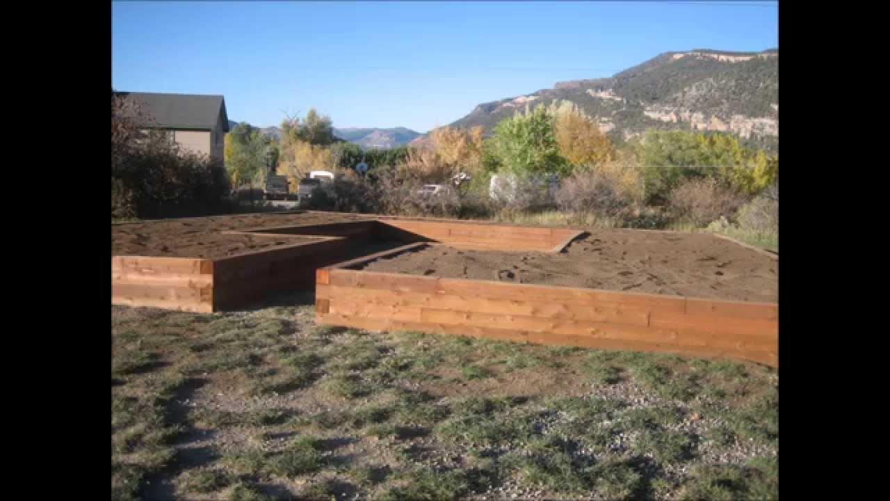 Building Outdoor Marijuana Growing Garden Durango Colorado