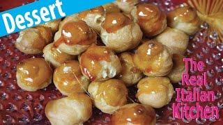 How To Make Cream Puffs from Scratch - Bigne&#39 alla Crema - Real Italian Kitchen - Episode 133