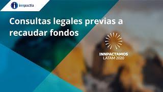 Consultas legales previas a recaudar fondos