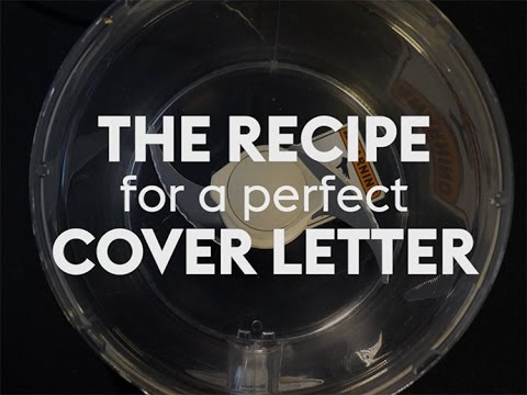 The Recipe for a Perfect Cover Letter   Monster.com