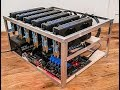 6 GPU Ethereum Mining Rig Hardware - 2018 Build Guide