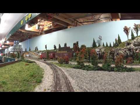 Blissfield Model Railroad Club,part 1, take a cab ride 3-19-17