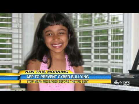 Cyber Bullying | New App Stops Mean Messages - YouTube