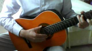 Sound of Silence guitar - Simon and Garfunkel (How to play on guitar easily)