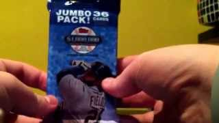 Topps baseball card 36 card booster pack opening SPECIAL PLEASE READ DESCRIPTION FOR DETAILS