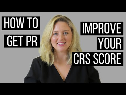 How To Get PR In Canada With A Low CRS Score