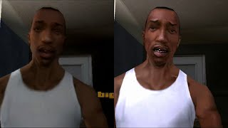 GTA San Andreas - PS2 Vs PS3 - HD 720p