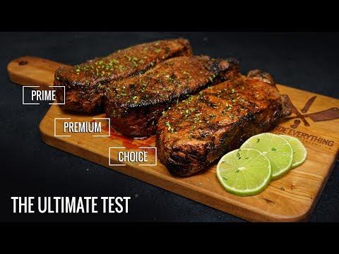 Sous Vide STEAK EXPERIMENT -  PRIME vs Premium vs Choice!