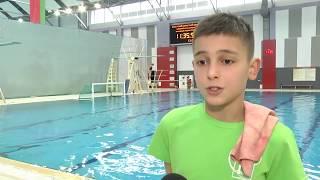 2020-02-14 г. Брест. Открытое первенство по прыжкам в воду.  Новости на Буг-ТВ. #бугтв