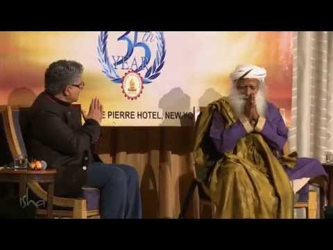 Ancient Wisdom in Modern Times - Deepak Chopra and Sadhguru,