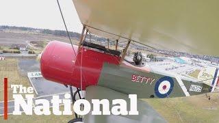 Rebuilding a WWI biplane