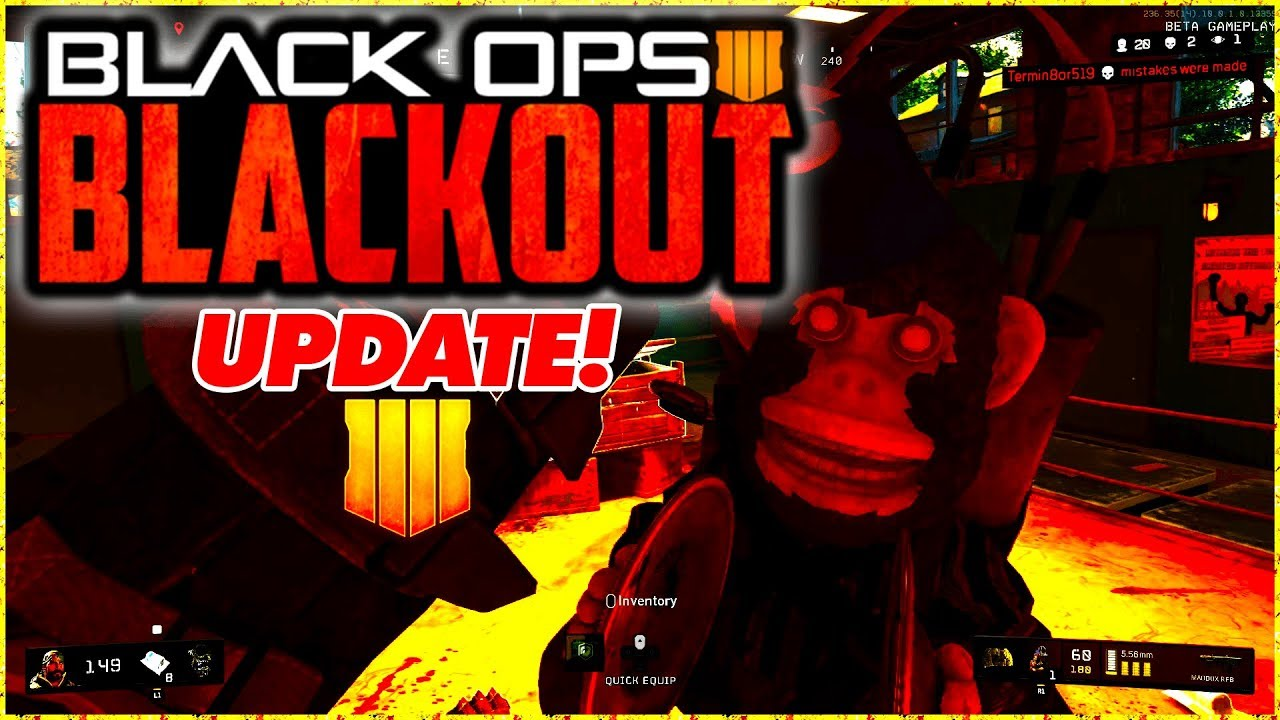 BO4 BLACKOUT UPDATE - INCREASED PLAYER COUNT, CRASH FIXES & MORE! | CALL OF  DUTY BLACK OPS 4