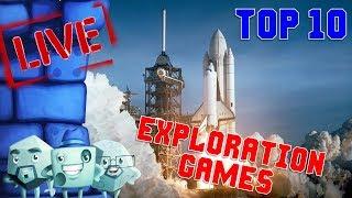 Top 10 Exploration Games