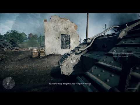Battlefield 1 first mission pc 4k ultra quality