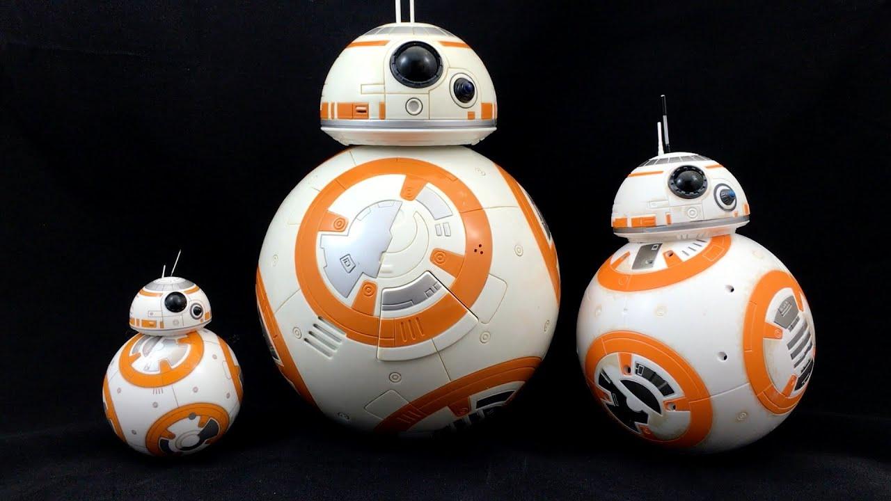 star wars bb 8 droid showdown sphero vs hasbro vs disney youtube. Black Bedroom Furniture Sets. Home Design Ideas