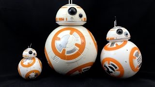 Star Wars BB-8 Droid Showdown: Sphero vs Hasbro vs Disney