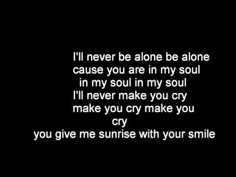Deepside Deejays Never Be Alone Lyrics