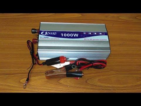Обзор дешевого инвертора 12- 220В 600Вт чистый синус с Алиэкспресс