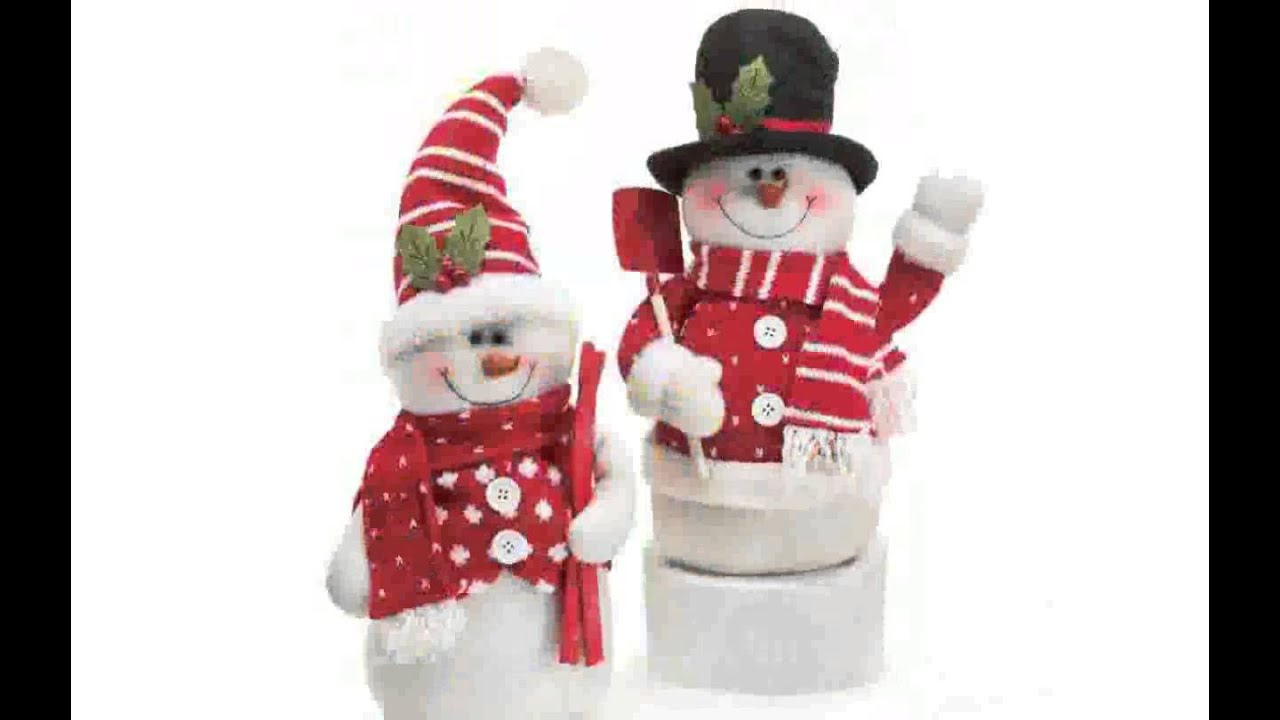 Snowman Decorations Youtube