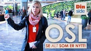 Se hele nye Oslo lufthavn Gardermoen (OSL)