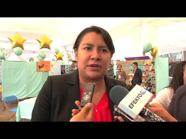 Entrevista a la Dra. Perla Gómez en la Cuarta Feria del Libro en Derechos Humanos