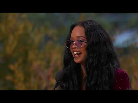 H.E.R. Wins Song Of The Year | 2021 GRAMMY Awards Show Acceptance Speech