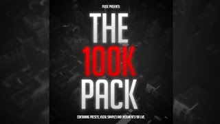 Over 500 FREE Presets Samples And Live Instruments Pulse 100K Pack