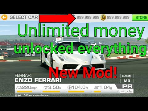 Real racing 3 Mod apk v 7.1.5 (unlimited gold & Unlocked all Cars)