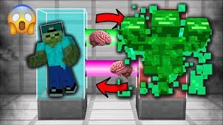 SWAPPING LIVES WITH A KING SLIME IN MINECRAFT! MARK FRIENDLY ZOMBIE MORPH INTO SLIME MOD! Minecraft