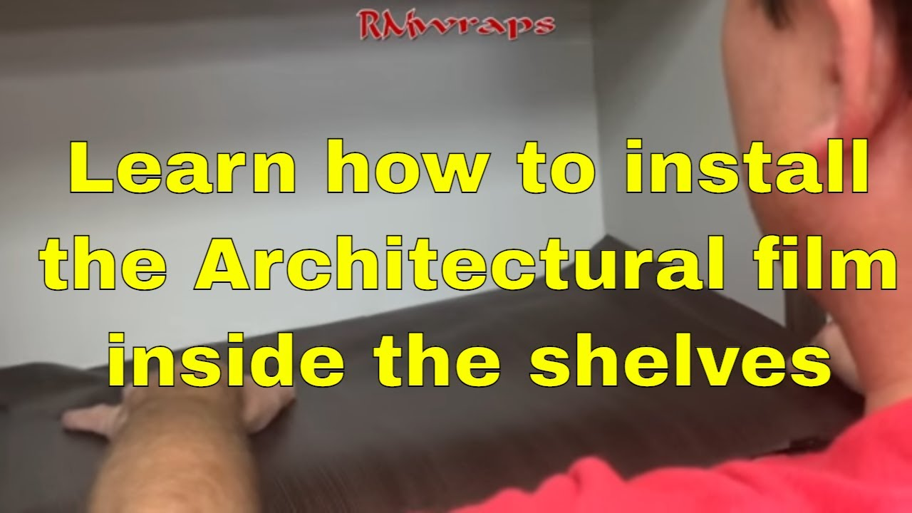 3m Di Noc How To Vinyl Wrap Inside