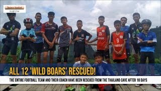 Thai cave rescue: Soccer team all out of cave after 18 days