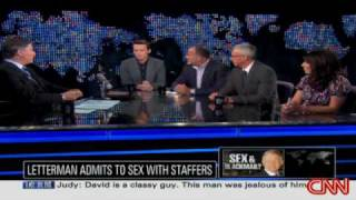 Letterman admits to affairs