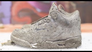 Download Cleaning The Dirtiest Jordan's Ever! $600 2001 Black Cement 3's Back To NEW! Mp3 and Videos