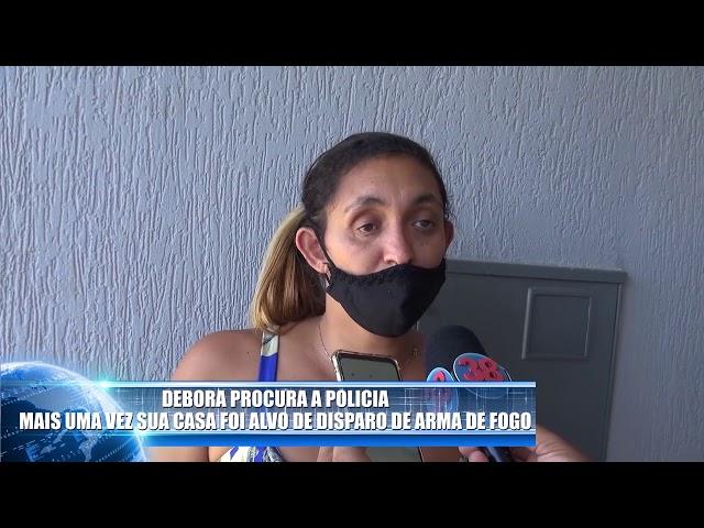 CÂMERA FLAGRA ELEMENTO TENTANDO MATAR MULHER POR DISPARO DE ARMA DE FOGO EM JANDAIA DO SUL