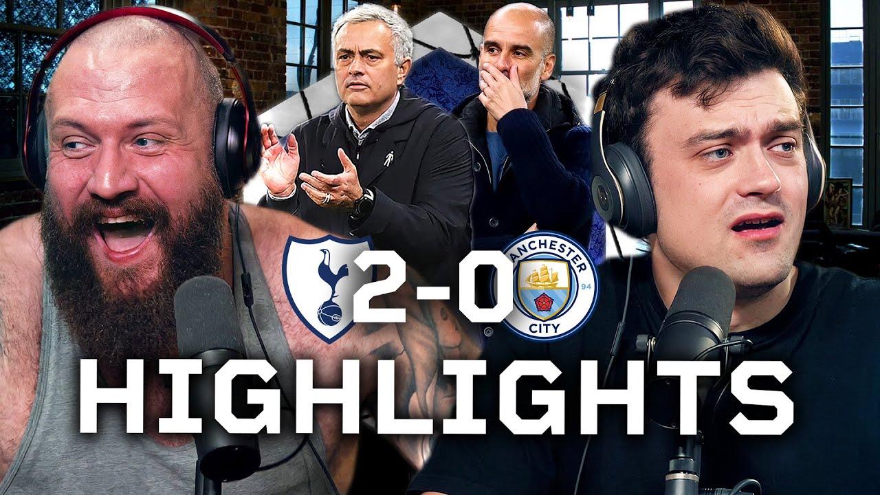 MOURINHO TAKES SPURS TOP! Tottenham 2-0 Man City