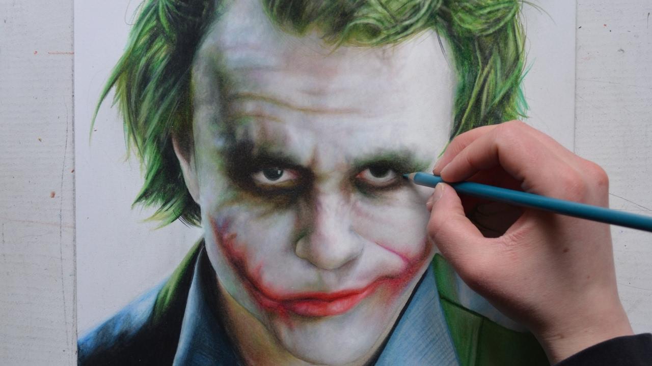 drawing the joker heath