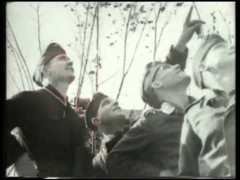 ME 109 v's Spitfire Mk V over France - rarer film shots