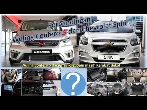 Chevrolet Spin saudara Wuling Confero S