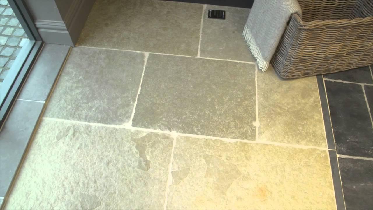 Jaipur Tumbled Limestone Flagstone Youtube