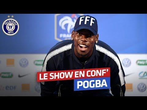 Paul Pogba : son show en conférence de presse en intégralité