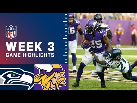 Seahawks vs. Vikings Week 3 Highlights   NFL 2021